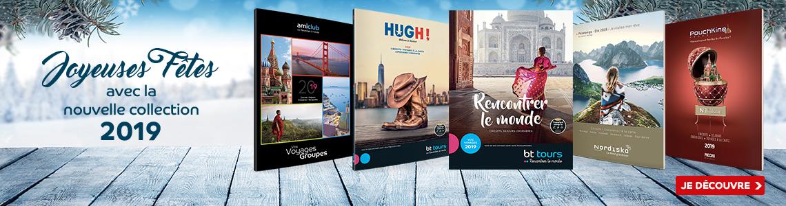 Découvrez nos brochures 2019